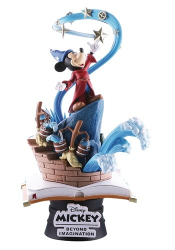 Beast Kingdom Mickey Mouse Sorcerers Apprentice PX 6in Statu