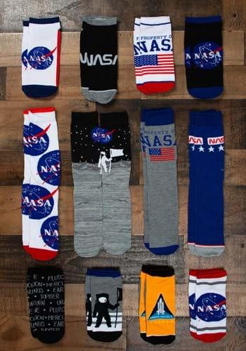 NASA 12 Days Hosiery Combo Sock Pack