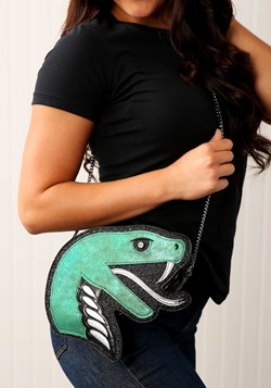 Danielle Nicole: HP Slytherin Die-Cut Crossbody Bag