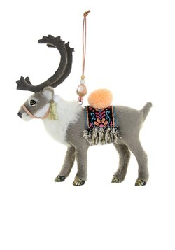 Lapland Reindeer Christmas Ornament