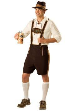 Men's Traditional German Lederhosen Costume
