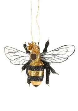 Queen Bee Christmas Ornament