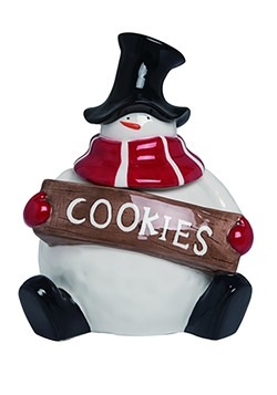 Frosties Snowman Dolomite Cookie Jar