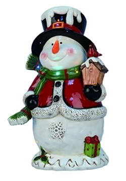 "19""H Light Up/Music Snowman Christmas Décor"