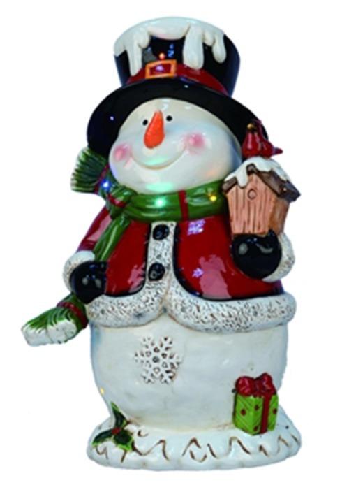 "19""H Light Up/Music Snowman Christmas Décor"
