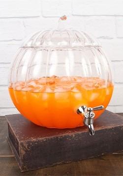 Glass Pumpkin 2 Gallon Drink Dispenser Alt 1