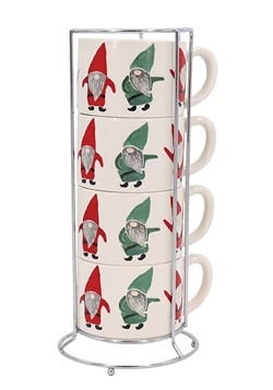 Gnome Stacking Mug Set