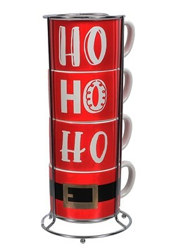 Stacking Ho Ho Ho Mug Set