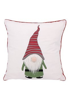"Gnome Applique 16"" Pillow"