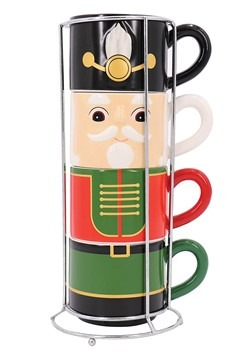 Nutcracker Stacking Mug Set