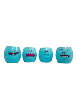 Rick & Morty Meeseeks 4 Pack Shot Glass Set