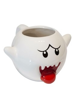 Super Mario Boo 3D Molded Ceramic Mug