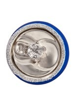 "4.75"" Bud Light Beer Can Glass Ornament Alt 3"