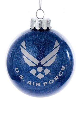 US Air Force Aim High Glass Ball Ornament