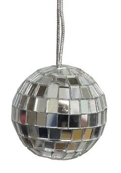 """4"""" Mirror Disco Ball Ornament 4pc"""