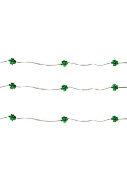 Shamrock St. Pattys Day Fairy Light Set