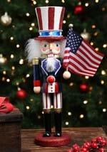 "15"" Wooden Uncle Sam Nutcracker"