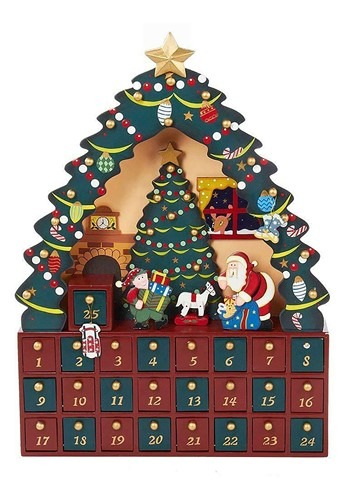 Christmas Tree 24pc Advent Calendar