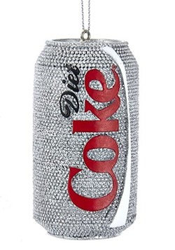 Diet Coke Can Resin Ornament