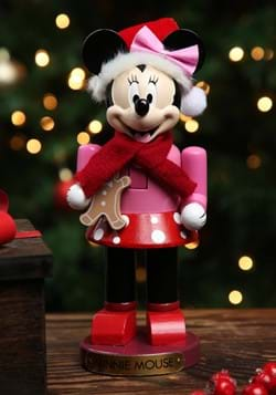 Minnie Mouse w/ Gingerbread Nutcracker
