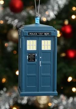 Doctor Who 13th Doctor Tardis Blowmold Ornament