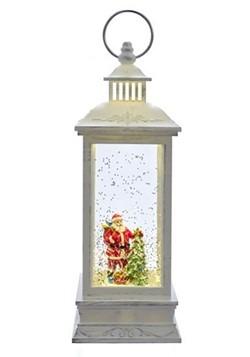 Santa Swirl LED Water Lantern