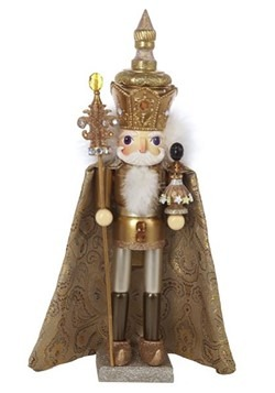 "Gold King Hollywood 18"" Nutcracker"