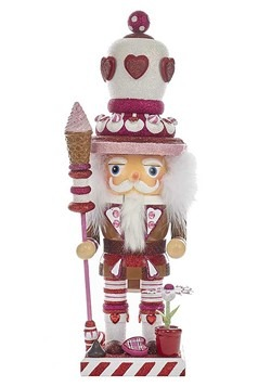 "Kurt Adler Chubby Heart King 16"" Hollywood Nutcracker"