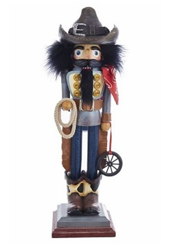"Cowboy Hollywood 19"" Nutcracker"