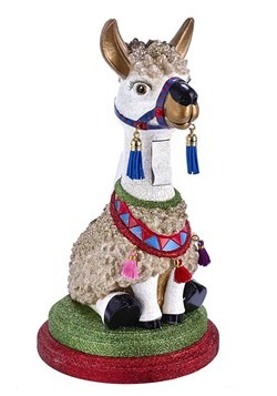 "Llama 11.5"" Hollywood Nutcracker"