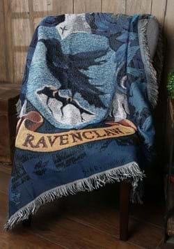Harry Potter Ravenclaw Crest Woven Tapestry Blanket
