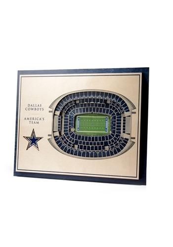 Dallas Cowboys 5-Layer Stadium Wall Art