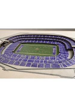 Minnesota Vikings 5-Layer Stadium Wall Art Alt 1