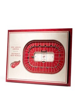 Detroit Red Wings 5-Layer Stadium Wall Art