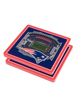 New England Patriots 3D Stadium Coasters