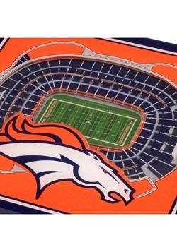 Denver Broncos 3D Stadium Coasters Alt 1