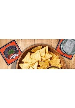 Denver Broncos 3D Stadium Coasters Alt 2