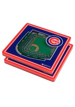 Chicago Cubs 3D Stadium Coasters
