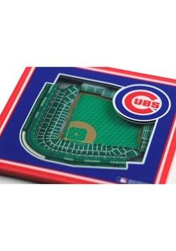 Chicago Cubs 3D Stadium Coasters Alt 1