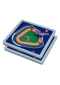 Los Angeles Dodgers 3D Stadium Coasters