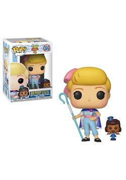 Pop! Disney: Toy Story 4- Bo Peep with Officer McDimples