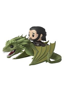 Pop! TV: Game of Thrones Season 8- Jon Snow with Rhaegal