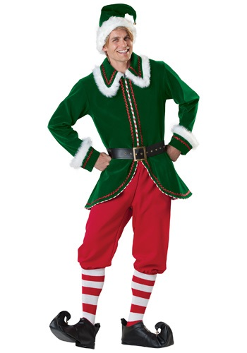 Santa's Elf Men's Costume
