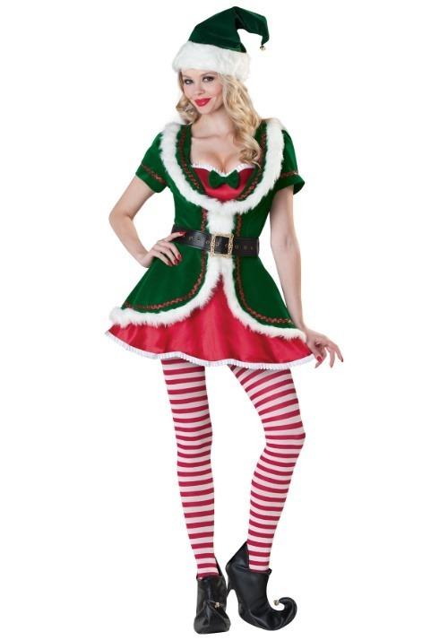 Women's Holiday Honey Costume