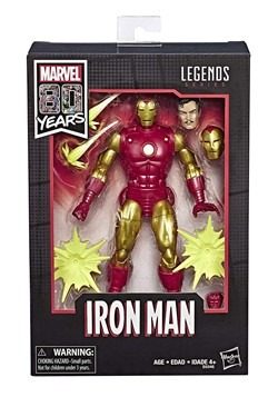 Marvel Legends 80th Anniversary Iron Man 6-Inch Action Figur