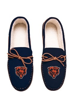 CHICAGO BEARS TEAM COLOR BIG LOGO MOCCASIN