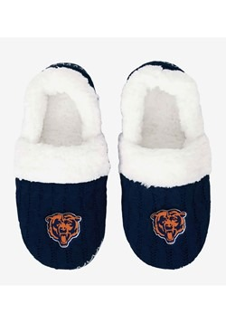 CHICAGO BEARS UGLY KNIT WOMENS MOCCASIN