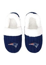 NEW ENGLAND PATRIOTS UGLY KNIT MOCCASIN