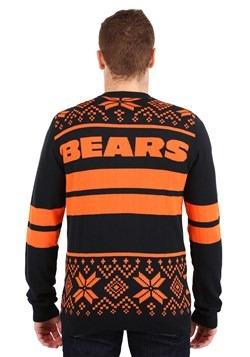 Chicago Bears Stripe Big Logo Light Up Sweater