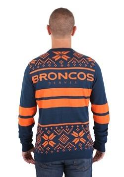 NFL Denver Broncos 2 Stripe Big Logo Light Up Sweater alt1